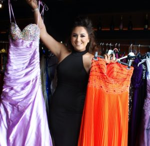 d43d56a07b A WARDROBE in Chafford Hundred is brimming with prom dresses in desperate  need of being shown off during this year s prom season.