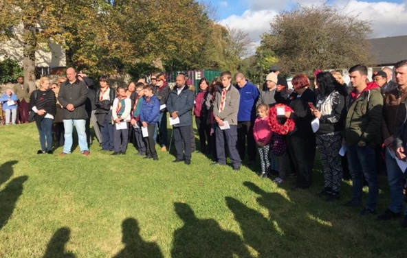 Purfleet pays tribute to those who gave their lives