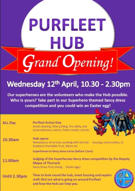 Purfleet Hub Grand Opening