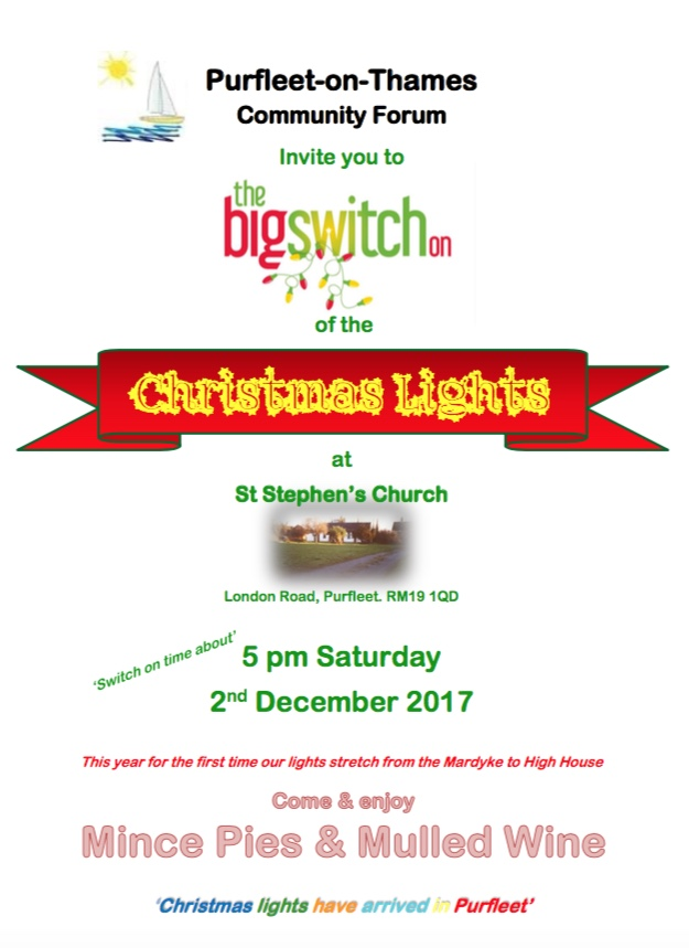 The Big Purfleet Christmas Lights Switch-On