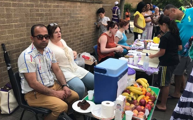 Blogspot: Thurrock politician's visit to Grenfell Tower