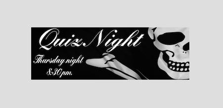 Thursday Quiz Night at The Old Ship Inn in Aveley