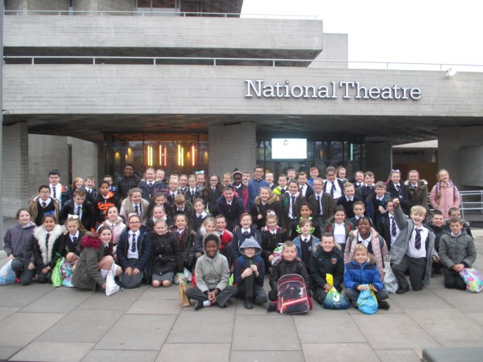 East Tilbury Primary finds Neverland at the National Theatre