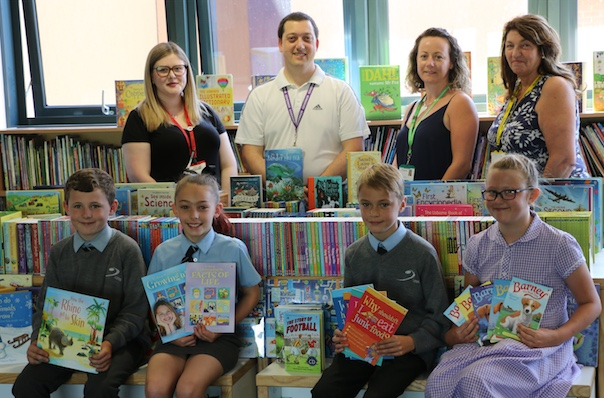 Book bonanza for the Gateway Primary Free School