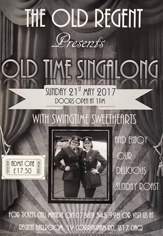Old Style Singalong at the Old Regent Ballroom