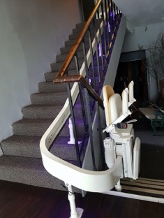 New stair lift at Old Regent Ballroom