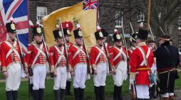 Come and see the Redcoats at Tilbury Fort