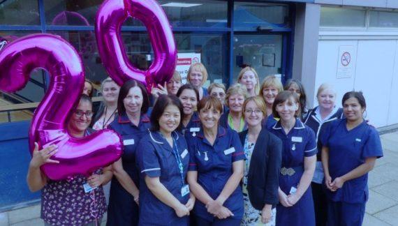 Renal Unit at Basildon Hospital celebrates 20th birthday