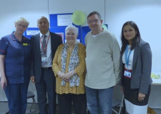 "Thurrock patients can talk to ""Rheum Mates"" at Basildon Hospital"