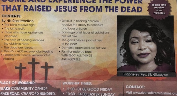 Advertising body set to take action against Chafford Hundred church advert