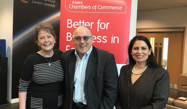Essex Chamber welcome Conservative MPs to skills summit at DP World