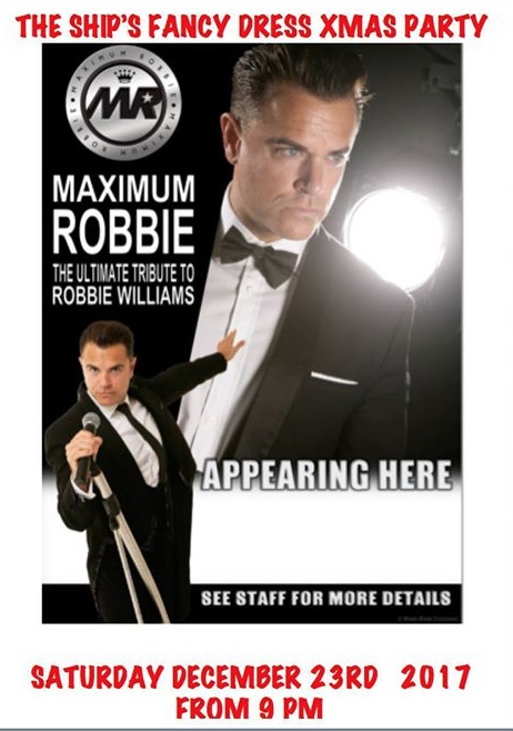 Robbie Williams Tribute at Old Ship Inn, Aveley