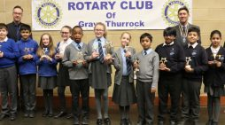 Grays Rotary Club impressed by students at Mathletics competition