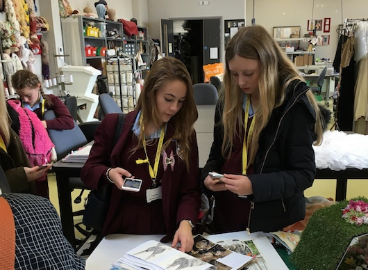 Students impressed during tour of Royal Opera House in Purfleet