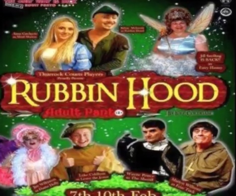 Review: Panto Rubbin Hood pulls it off at the Thameside