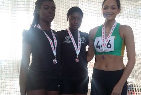 Athletics: Funminiyi strikes Gold at Indoor Champs