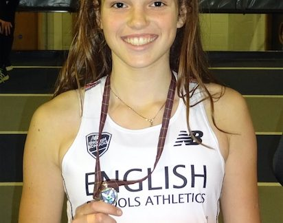 Athletics: Thurrock Harrier Ruby represents England