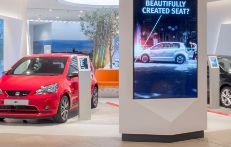 SEAT showcase new generation of car buying at intu Lakeside store