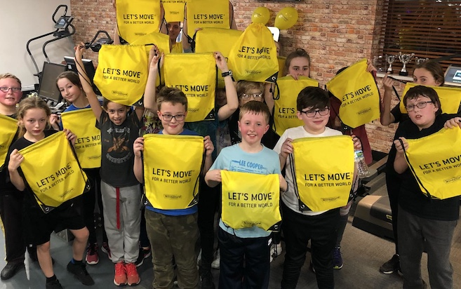Thurrock Scouts get sporty as part of Move It campaign