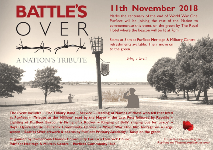 WW1: Purfleet to host special events for remembrance commemorations