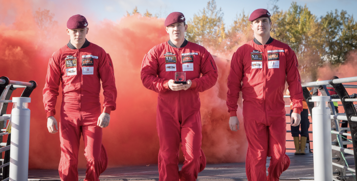 Red Devils to parachute into Alexandra Lake at intu Lakeside to hand over the first poppy of Essex.