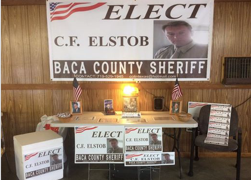 Tilbury man is standing for Sheriff!