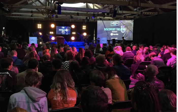 South Essex College students inspired by BBC Music Live