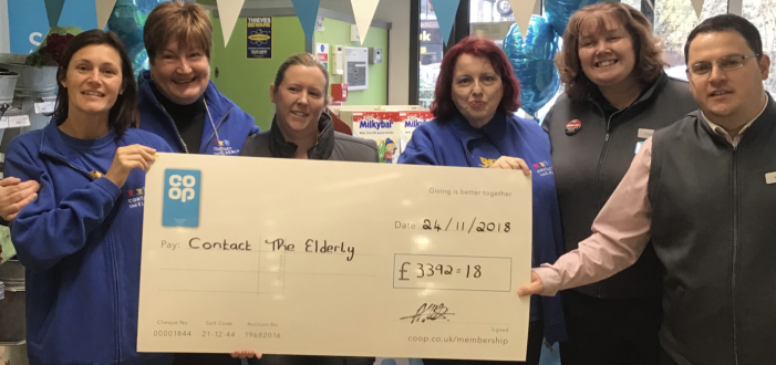 Grays Co-Op shoppers praised for charity donations