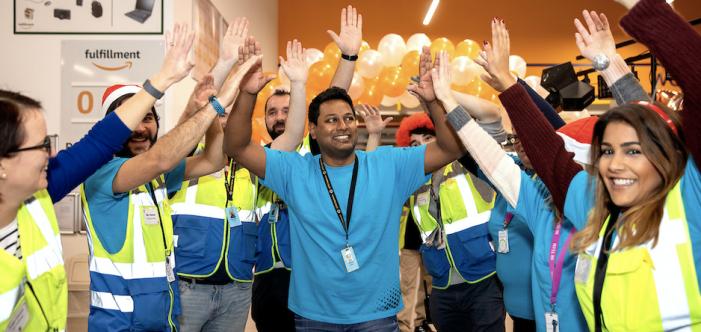 Amazon's Tilbury team enjoy fun-filled Black Friday