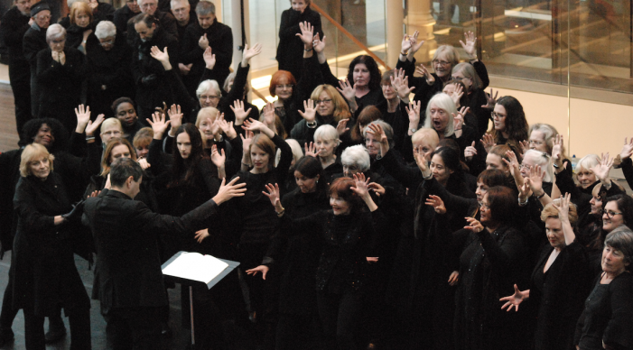 Thurrock Community Chorus enjoy a month of Sundays at Royal Opera House