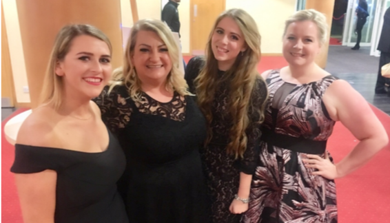 Ortu Gable Hall celebrate double win at Thurrock Education Awards