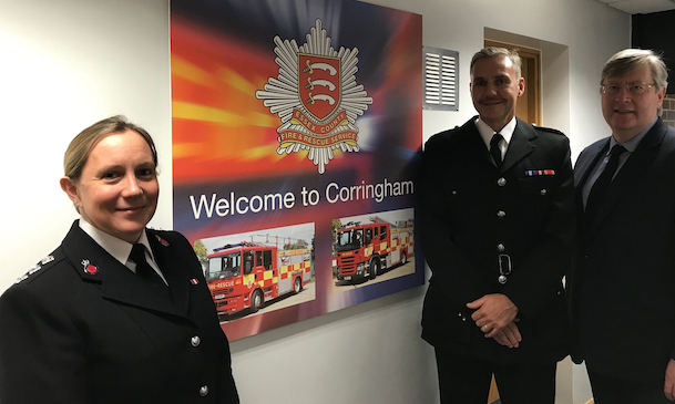 Corringham Fire Station to be used by Essex Police