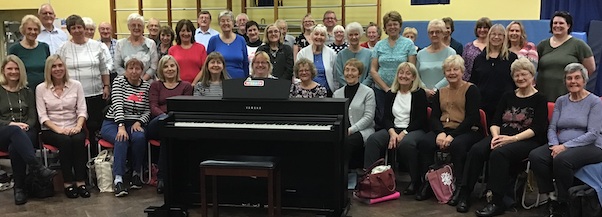 Griffin Foundation give generous donation to Thurrock Choir