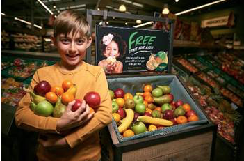 Morrisons in Grays to hand out fresh fruit for children