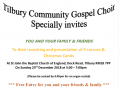 Tilbury Community Gospel Choir Christmas service