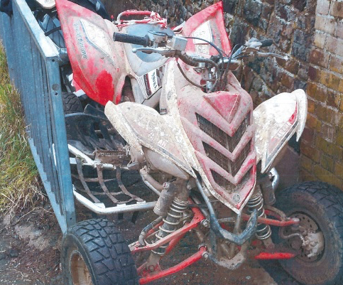 Thurrock quad bike riders banned from driving