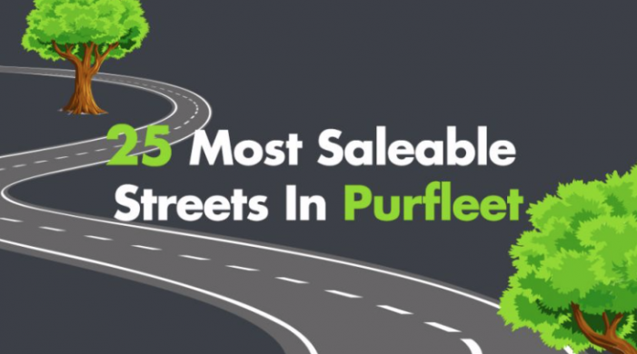 Blogpost: The 25 most saleable streets in Purfleet