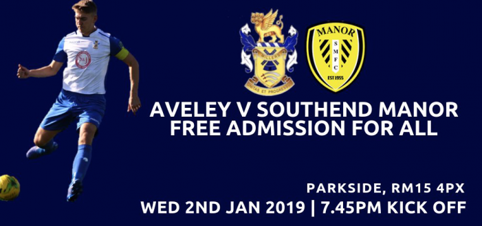 Football: Free entry at Aveley FC on Wednesday night