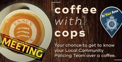 South Ockendon: Make a date for coffee with cops