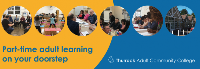 Thurrock Adult Community College: Come and learn something new in 2019