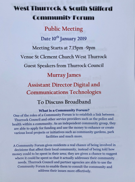West Thurrock and South Stifford Community Forum