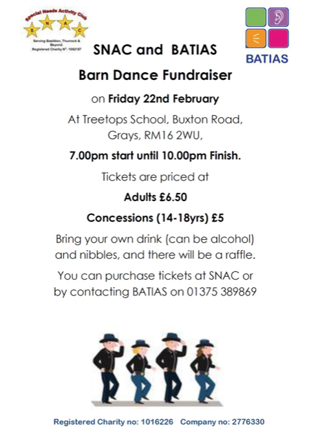 Barn Dance Fundraiser for Special Needs Activity Club