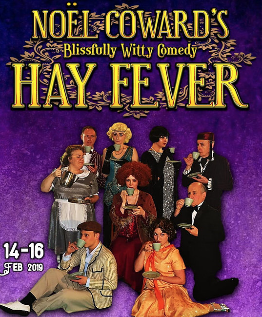 Catch Hay Fever at the Thameside Theatre