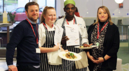 South Essex College students serve up delightful dishes