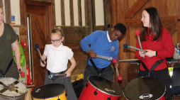 Royal Opera House Thurrock Trailblazer schools make a carnival in a day with Kinetika