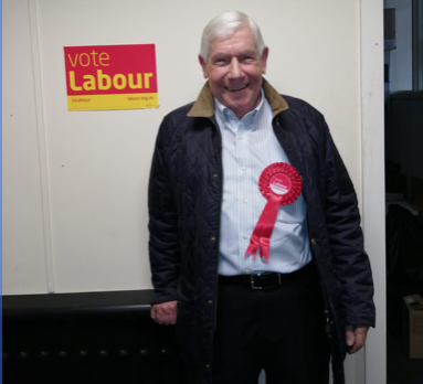 Former Mayor Charlie Curtis selected as Labour candidate