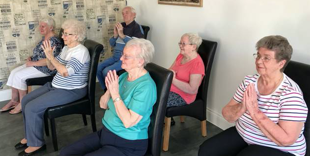 Chadwell St Mary: Seated yoga changing lives for mature learners