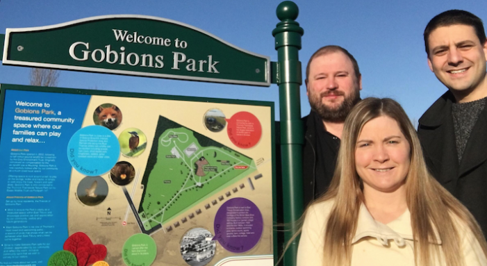 Cash boost for the Friends of Gobions Park in East Tilbury