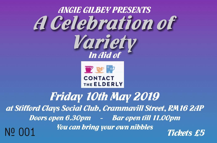 Contact the Elderly to host a night of variety