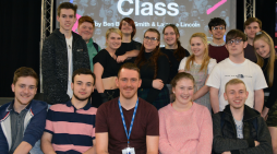 South Essex College acting students put on class performance